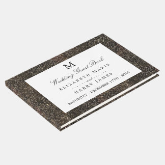 Vintage Hollywood Glam Wedding Guest Book