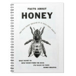 Vintage Honey Bee Advertising Spiral Notebooks