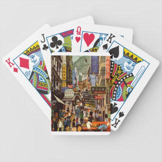 Vintage Hong Kong Bicycle Playing Cards