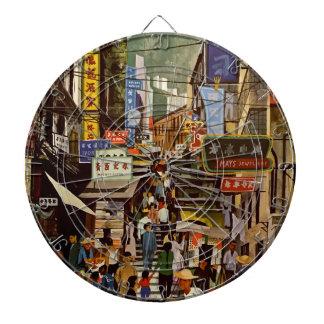 Vintage Hong Kong Dartboard
