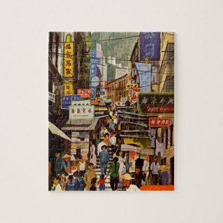 Vintage Hong Kong Jigsaw Puzzle
