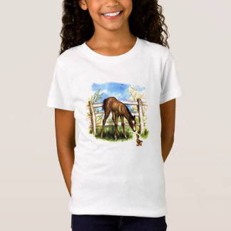 Vintage Horse and Duckling T-Shirt