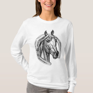 Vintage Horse and Horseshoe Tee Shirt