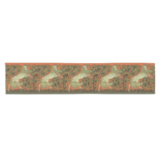 Vintage Horse Pattern Short Table Runner