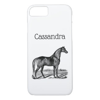 Vintage Horse Standing iPhone 8/7 Case