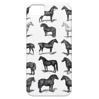 Vintage Horses iPhone Case