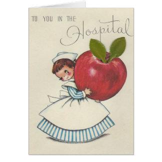 Vintage Hospital Stay Card
