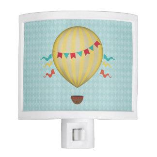 Vintage Hot Air Balloon Night Lite