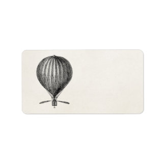 Vintage Hot Air Balloon Retro Airship Balloons