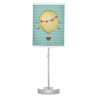 Vintage Hot Air Balloon Table Lamp