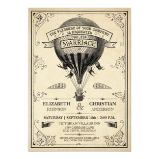 Shop Zazzle's selection of steampunk wedding invitations for your special day!