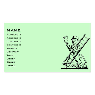 Vintage House Painter Business Card Template