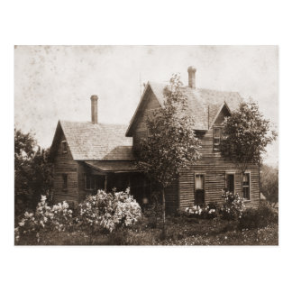 Vintage House Postcard
