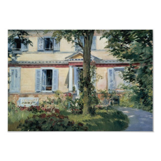 Vintage Houses by Manet, Change of Address Card
