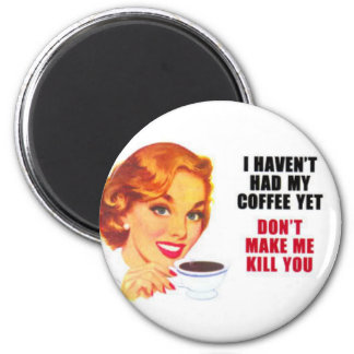 vintage housewife 2 inch round magnet