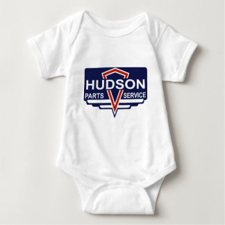 Vintage Hudson parts sign Baby Bodysuit