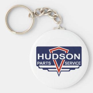 Vintage Hudson parts sign Keychain