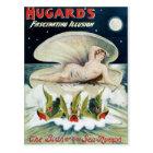Vintage Hugard's Fascinating Illusion Poster Postcard