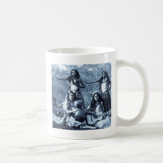 Vintage Hula Girls from the Territory of Hawaii Coffee Mug