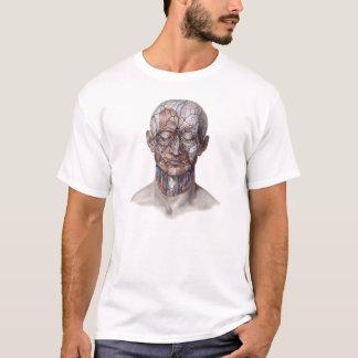 Vintage Human Anatomy Science, Head Throat Nose T-Shirt