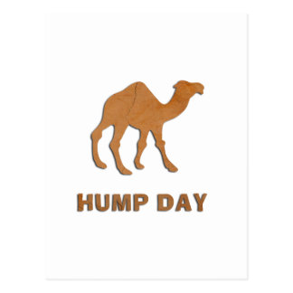 VINTAGE HUMP DAY CAMEL POST CARD