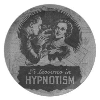 Vintage Hypnotism Plate