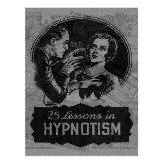 Vintage Hypnotism Postcard