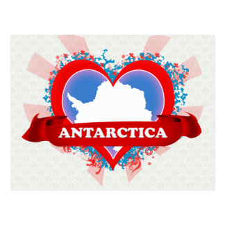 Vintage I Love Antarctica Postcards