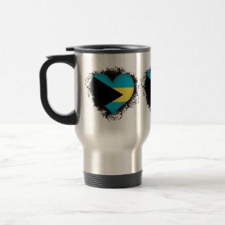 Vintage I Love Bahamas Travel Mug