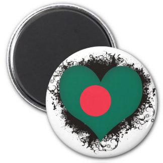 Vintage I Love Bangladesh Magnet