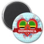 Vintage I Love Dominica