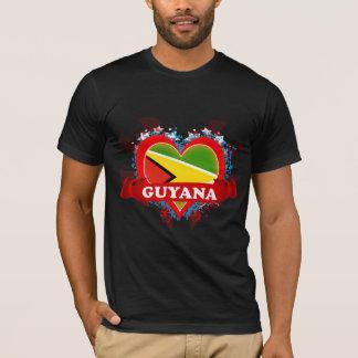 Vintage I Love Guyana T-Shirt