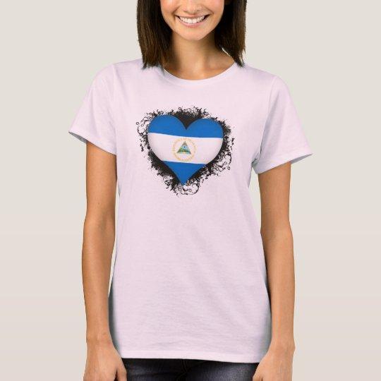 Vintage I Love Nicaragua T-Shirt