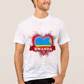 Vintage I Love Rwanda T-Shirt