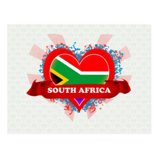 Vintage I Love South Africa Postcard