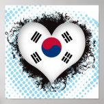 Vintage I Love South Korea