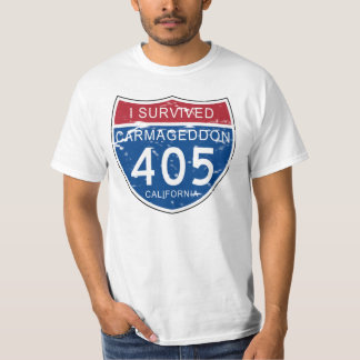 VINTAGE I Survived Carmageddon California T-Shirt