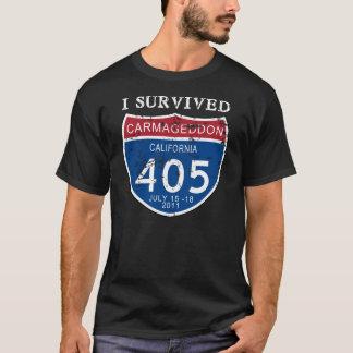VINTAGE I Survived Carmageddon T-Shirt