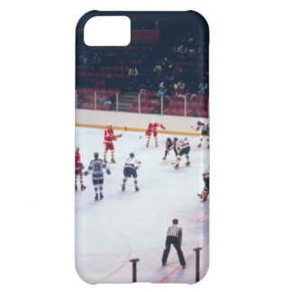 Vintage Ice Hockey Match iPhone 5C Covers