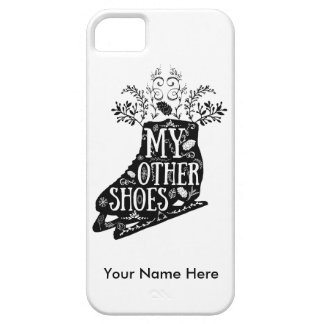 Vintage Ice Skate iPhone 5 Case