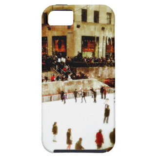 Vintage Ice Skating at the Rink iPhone 5 Covers