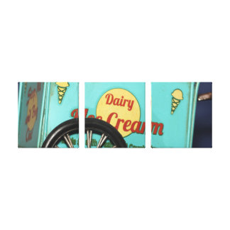 Vintage Icecream Truck Wall Art