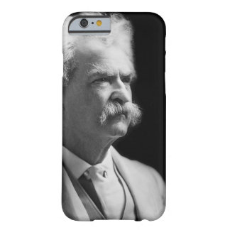 Vintage Iconic Mark Twain Black and White Barely There iPhone 6 Case