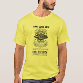 Vintage Illinois Central RR Men's Basic T-Shirt