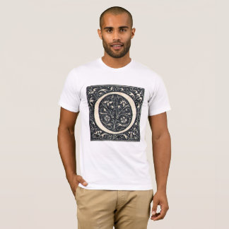 Vintage Illuminated Letter O T-Shirt 2