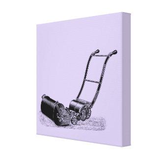 VINTAGE ILLUSTRATION British Lawn Mower Choose C Canvas Print
