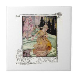 Vintage Illustration Cinderella Tile