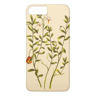 Vintage Illustration of a Cranberry Plant iPhone 7 Plus Case