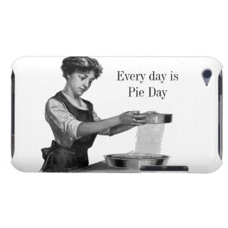 Vintage illustration of a lady baking barely there iPod case