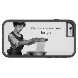 Vintage illustration of a lady baking tough xtreme iPhone 6 case